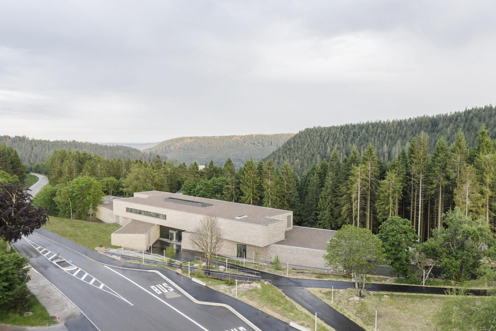 Besucherzentrum Ruhestein Seebach Nationalpark Schwarwald Neubau